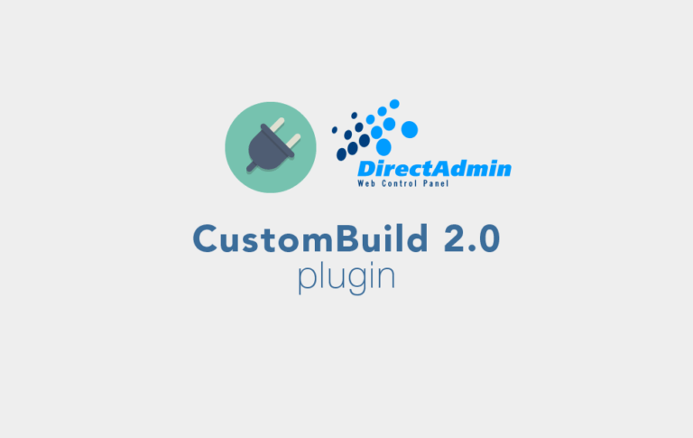 DirectAdmin-CustomBuild-2.0-plugin