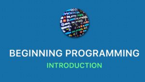 Beginning Programing